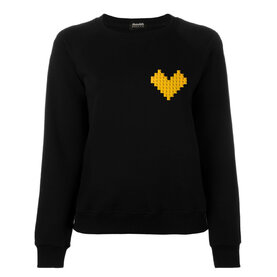 Суитшърт с LEGO® елементи YELLOW HEART